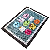 Cusphorn Thicker Cotton Baby Crawling Mats/Kids Floor Play Mat Cartoon Area Rugs Anti-Slip Kids Bedroom Carpet Machine Washable