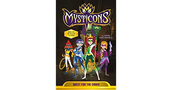 Amazon.com: Mysticons: Quest for the Codex (9781250165060 ...