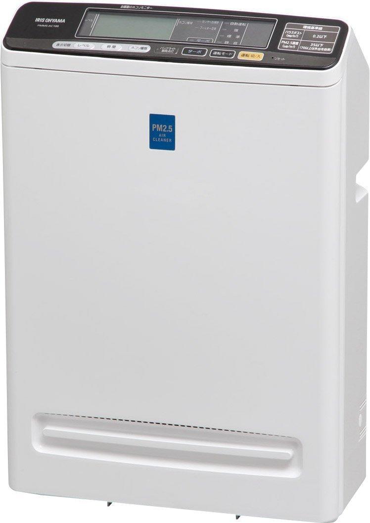 アイリスオーヤマ 空気清浄機 花粉 PM2.5 除去 ~25畳 PMMS-DC100 B00PQABYRW 25畳