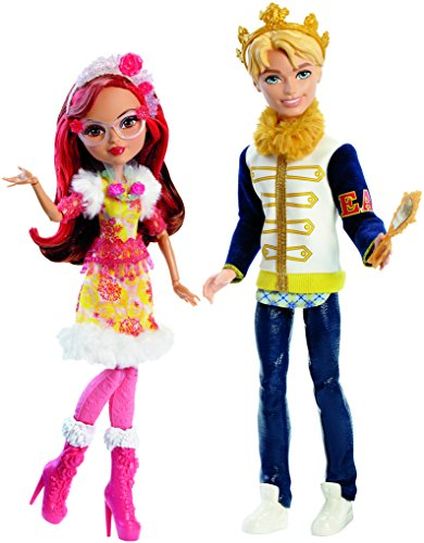 Ever After High Epic Winter Daring Charming and Rosabella Beauty Dolls - Your Create Own Eyeglasses