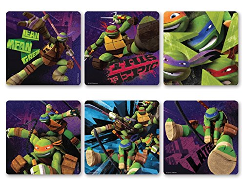 Trends International Teenage Mutant Ninja Turtles TNMT Stickers 100 per Roll -