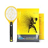 Best Electric Fly Swatters - Electric Fly Swatter, Mini Bug Zapper Rechargeable Review