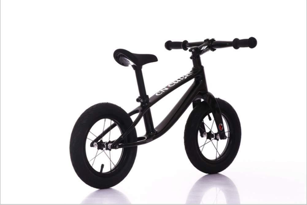 nuevo listado 1-1 1-1 1-1 Bicicleta Infantil, Todo El Marco De Fibra De Cochebono Scooter De Dos Ruedas para Niños No Pedal Bicicleta De 12 Pulgadas  costo real