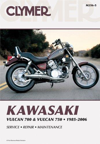 Kawasaki Vulcan 700 & Vulcan 750 1985-2006 (Clymer Manuals: Motorcycle Repair)