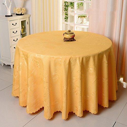 C Round-320cm linge de cuisine Nappe ronde, Nappe ronde de mariage Nappe de restaurant Tissu de table de café de restaurant ( Couleur   C , taille   Round-320cm )
