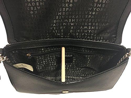 York Handbag Clutch New Black Greer Way Spade Kate Crossbody Laurel FUwEEq