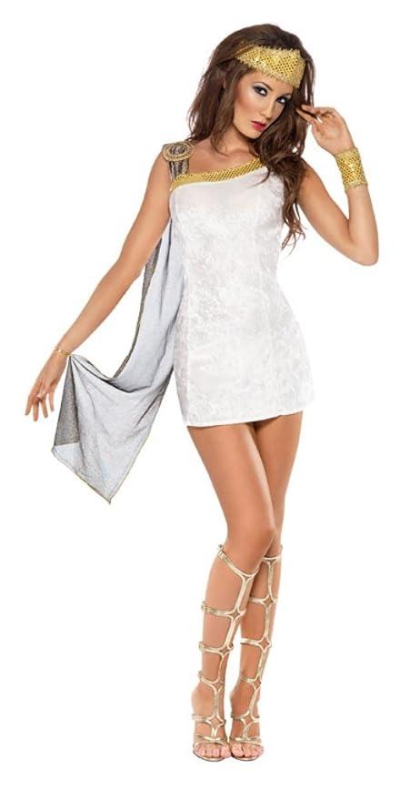 Costume donna sexy romana  Smiffys  Amazon.it  Giochi e giocattoli 059d3b08657