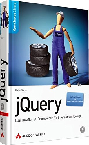 jQuery: Das JavaScript-Framework für interaktives Design (Open Source Library)