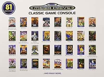Sega genesis classic game console 2017 version - Sega genesis classic game console games ...