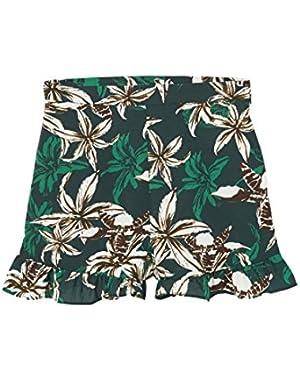 Mango Women's Tropical Print Shorts