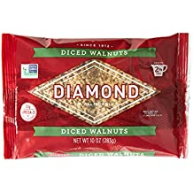 Diamond of California, Finely Diced Walnuts, Non GMO, No Added Salt, 10 Ounce (Pack of 6)