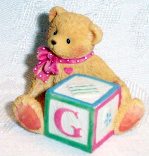 Cherished Teddies Bear with ABC Block G ()