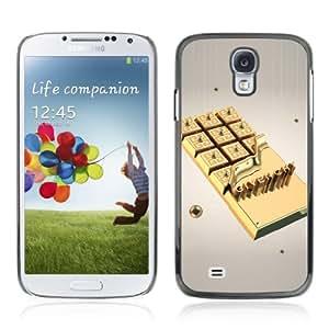 YOYOSHOP [Gold Chocolate] Samsung Galaxy S4 Case