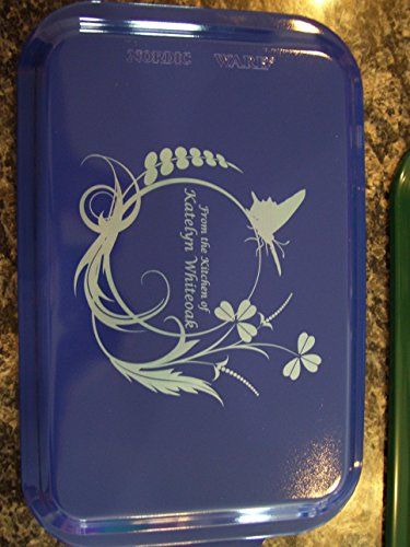 Custom and Personalized Covered Cake Pan 24 Designs Your Wording Blue
