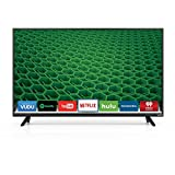 Vizio D40f-E1 1080p 40in Smart LED TV, Black (Renewed)