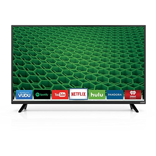 "Vizio D40f-E1 1080p 40"" Smart LED TV, Black (Refurbished)"