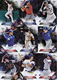 2016 Topps Chrome MLB Baseball Series Complete Mint 200 Card Set with Rookies and Stars including Mike Trout, Bryce Harper, Corey Seager, Gary Sanchez plus