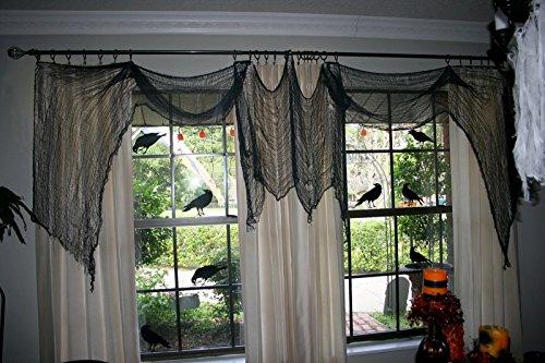Un drap en lambeaux : pour une décoration d'Halloween qui fait peur