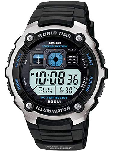 Casio Multifunctional Digital Sport Watch Black AE2000W-1AV