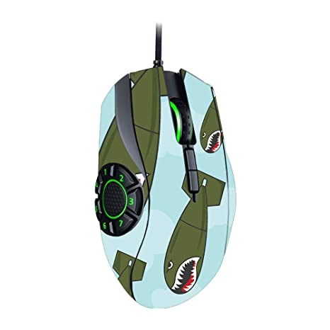 Durable and Unique Vinyl Decal wrap Cover Easy to Apply Protective Remove and Change Styles Lightning Storm MightySkins Skin Compatible with Razer Naga Hex V2 Gaming Mouse Made in The USA