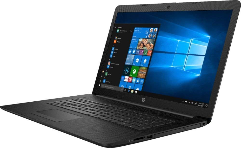 HP Notebook Laptop 15.6 HD Vibrant Display Quad Core AMD E2-7110 APU 1.8GHz 4GB RAM 500GB HDD DVD Windows 10 1
