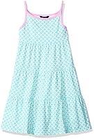 Nautica Girls' Geo Print Tiered Dress wi...