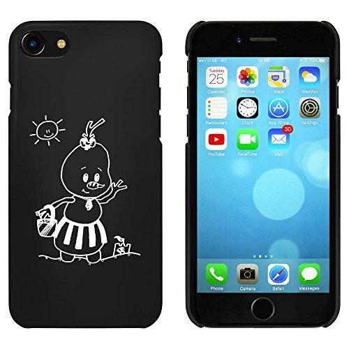 Noir 'Été Bonhomme de Neige' étui / housse pour iPhone 7 (MC00066605)
