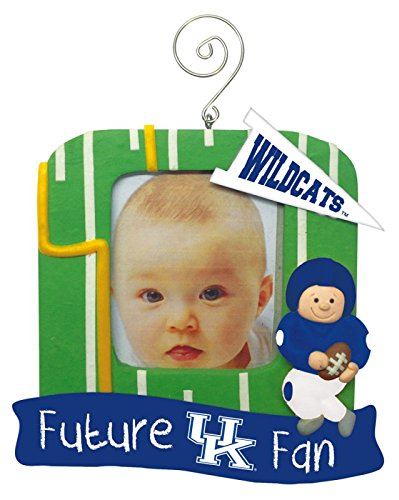 Team Sports America Kentucky Wildcats Official NCAA 5 inch x 5 inch Future Fan Photo Frame Christmas Ornament by Evergreen 167331 by Team Sports America