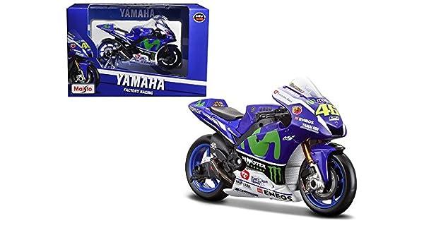 Amazon.com: Maisto Yamaha YZR-M1#46 2016 Moto GP Valentino ...