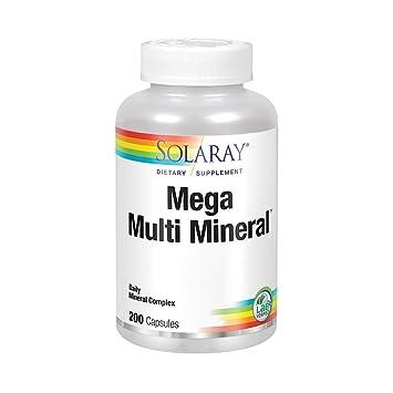 Amazon.com: Solaray – Mega Multi Mineral, 1, 1: Health ...