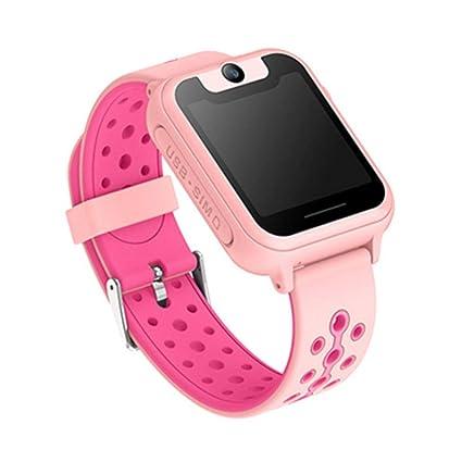 ETbotu Reloj Inteligente Impermeable con GPS para niños, Reloj antipérdida SOS para Android/iOS