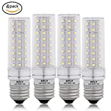 E26 LED Bulbs, 16W LED Candelabra Bulb 120 Watt Equivalent, 1400lm, E26 Standard Base Decorative Non-Dimmable LED Chandelier Bulbs, Cool White 6000K LED Corn Lamp, Pack of 4