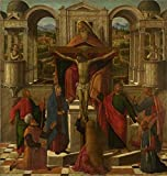 The Perfect Effect Canvas Of Oil Painting 'Giovanni Mansueti-Symbolic Representation Of The Crucifixion,1492' ,size: 12x13 Inch / 30x32 Cm ,this Beautiful Art Decorative Canvas Prints Is Fit For Hallway Decoration And Home Artwork And Gifts