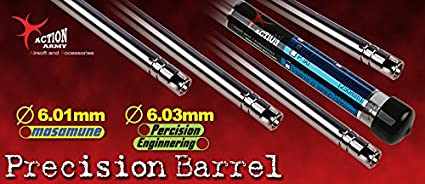 Action Army Airsoft Stainless Steel Barrel 6.01 VSR-10 430mm