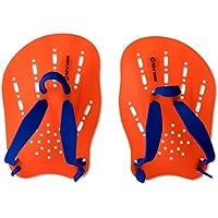 New Wave Swim Paddles - Contoured Swimming Hand Paddles...
