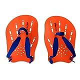 New Wave Swim Paddles - Contoured Swimming Hand Paddles for SwimRun & Triathlon Training