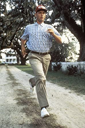 Forrest Gump Tom Hanks Running 24x36 Poster at Amazon's ...
