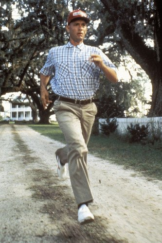 Forrest Gump Tom Hanks Running 24x36 Poster