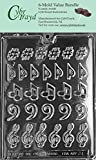 CybrTrayd J006-6BUNDLE Music, Music, Music Chocolate Candy Mold with Exclusive Copyrighted Chocolate Molding Instructions