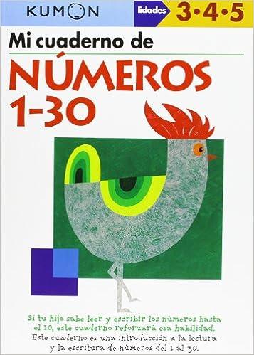 Mi Libro De Números 1-30: Amazon.es: Vv.Aa.: Libros