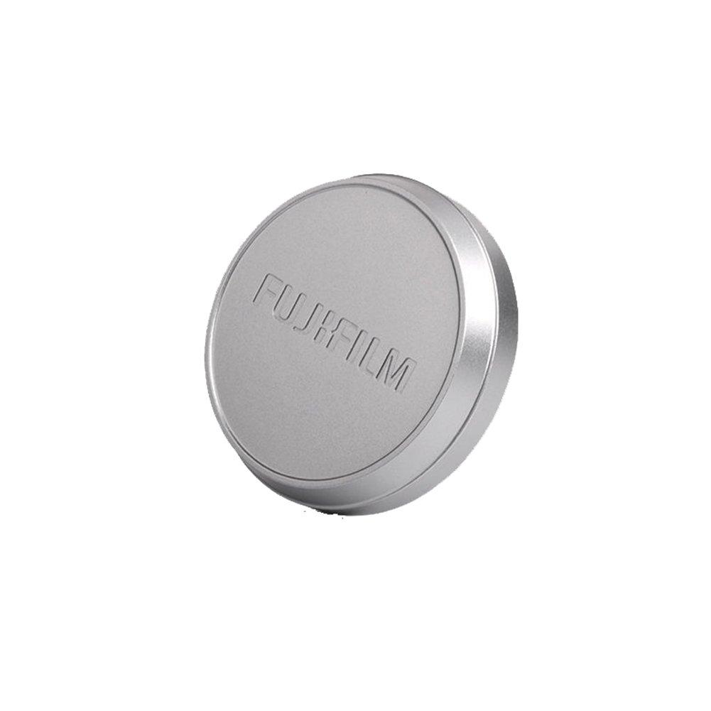 FOTOMIX LC-FX100 Metal Front Lens Cap for FUJI Fujifilm X100F X100 X100S X100T (Silver)