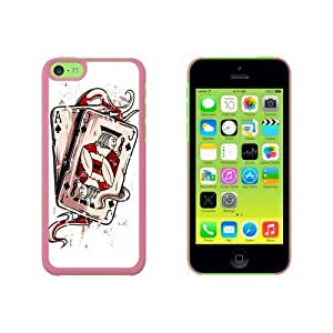 Ace Jack of Spades - Deck Cards Poker Gambling Snap On Hard Protective For SamSung Note 3 Phone Case Cover - Pink