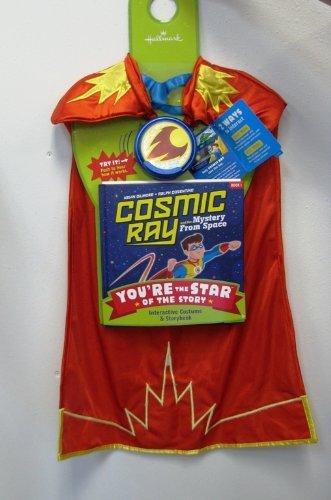 [Hallmark Interactive PSB1112 Cosmic Ray & The Magic Cape Book 1] (Super Ray Costume)