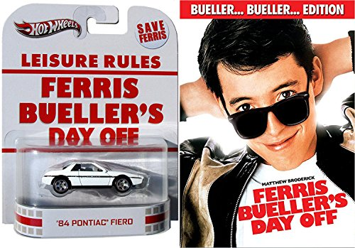Ferris Bueller's Day Off... Leisure Rules Car Edition Fun Comedy 80's High School Teen movie Set