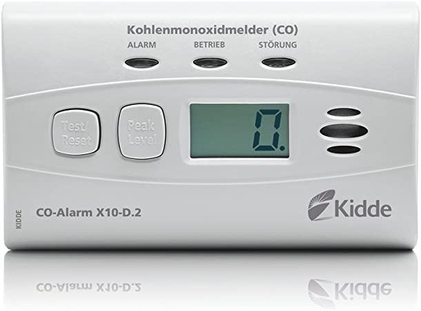 D/étecteur de monoxyde de carbone KIDDE 7/COC D/étecteur de monoxyde de carbone avec affichage num/érique