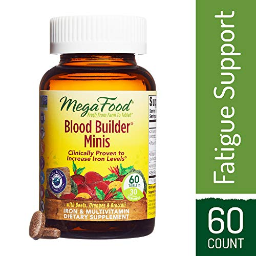 MegaFood - Blood Builder Minis, Support for Healthy Iron Lev