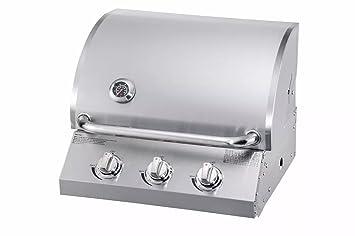 Amazon.com: Chaleur - Grifo de gas de acero inoxidable (3 ...