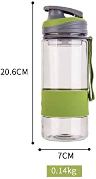 Yionloe 600ML Large Non-Toxi Water Bottle