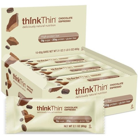 thinkThin Protein Nut Bar, Dark Chocolate, 1.41-Ounce Each Bar ( Family Pack of 3) thinkThin-uy by thinkThin