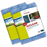 Alclear Allrounder Chiffon de polissage polyvalent double face 40 x 40 cm, bleu
